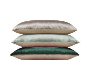 Iosis Dekokissen BERLINGOT (grau, ice, dunkelgrün / 2 Größen)