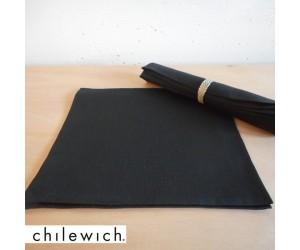 Chilewich Serviette Single schwarz