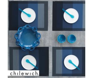 Chilewich Tischset Color Tempo indigo