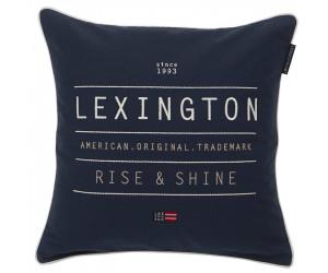 Lexington Dekokissen Rise and Shine Sham blau (50 x 50 cm)