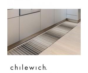Chilewich Teppich Block Stripe taupe