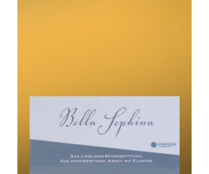 Formesse Spannbettlaken Bella Sephina goldgelb -0040