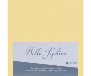 Formesse Spannbettlaken Bella Sephina hellgelb -0091