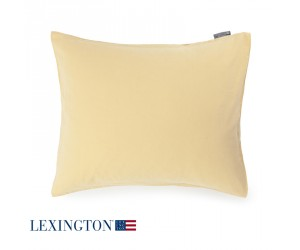 Lexington Urban Baumwoll-Leinen Bettwäsche gelb