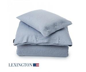 Lexington Bettwäsche Jacquard blau