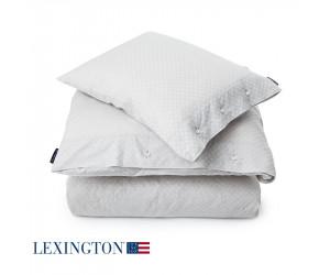Lexington Bettwäsche Jacquard grau