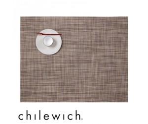 Chilewich Set Rechteckig Mini Basketweave soapstone