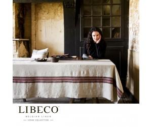 Libeco Tischdecke Carolina Stripe