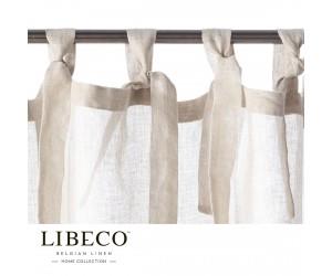 Libeco Vorhang Casper white sand (Schlaufen)