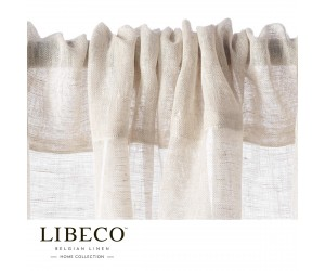 Libeco Vorhang Casper white sand (Tunnelzug)
