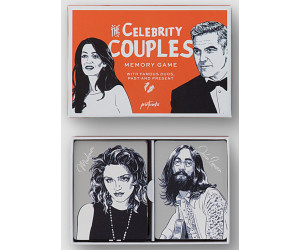 "Printworks Memory Spiel ""Celebrity Couples"""