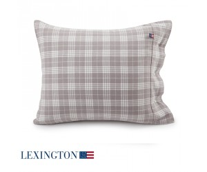 Lexington Kissenbezug Holiday Checked Flannel beige (40 x 80 cm)