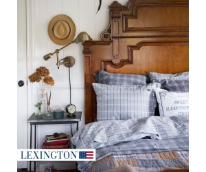 Lexington Bettwäsche Checked Herringbone