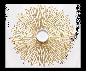 Chilewich Tischset Bloom gold -001 (36x48 cm)