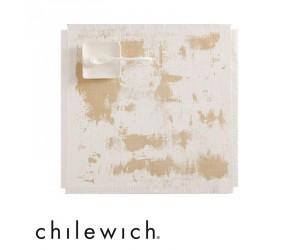 Chilewich Tischset Imprint rustic gold