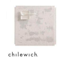 Chilewich Tischset Imprint antique silver
