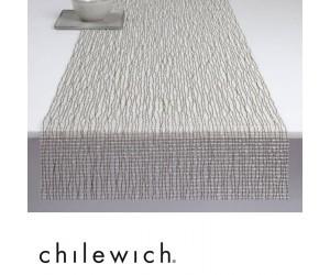 Chilewich Läufer Lattice silber