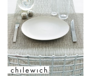 Chilewich Tischset Lattice silber