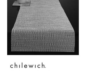 Chilewich Läufer Lattice weiß