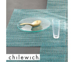 Chilewich Tischset Lattice aqua