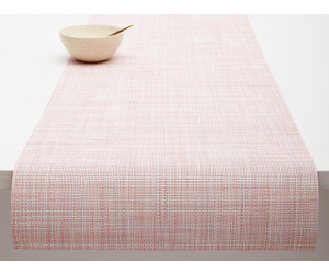 Chilewich Tischläufer Mini Basketweave blush -033 (36x183 cm)