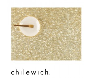 Chilewich Tischset Metallic Lace gold