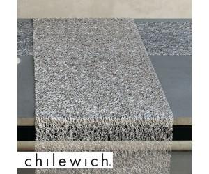 Chilewich Läufer Metallic Lace silber