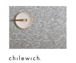 Chilewich Tischset Metallic Lace silber