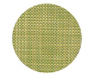 Chilewich Glasuntersetzer Set Mini Basketweave dill -008 4-er set (Ø 10 cm)