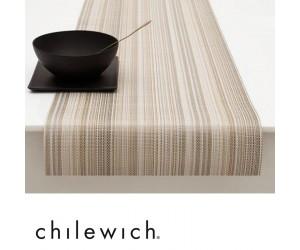 Chilewich Läufer Multi Stripe champagne