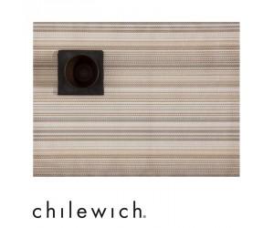 Chilewich Tischset Multi Stripe champagne