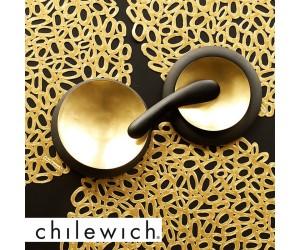 Chilewich Tischset Pebble brass