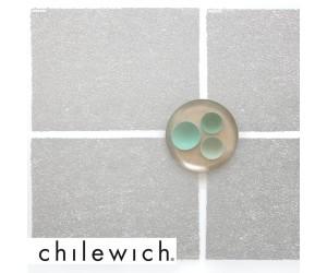 Chilewich Tischset Scribble silber / 4 Stück