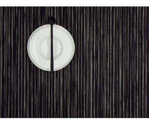 Chilewich Tischset Rib Weave rechteckig schwarz