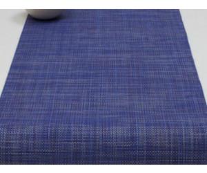 Chilewich Tischläufer Mini Basketweave blueberry -027 (36x183 cm)