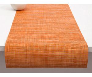Chilewich Tischläufer Mini Basketweave clementine -004 (36x183 cm)