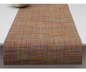 Chilewich Tischläufer Mini Basketweave confetti -005 (36x183 cm)