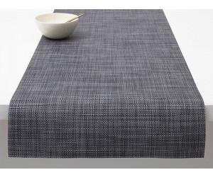 Chilewich Tischläufer Mini Basketweave cool grey -038 (36x183 cm)