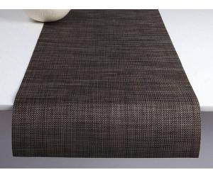 Chilewich Tischläufer Mini Basketweave dunkel walnuss -007 (36x183 cm)
