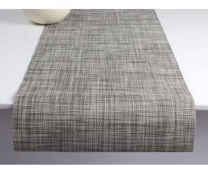 Chilewich Tischläufer Mini Basketweave gravel -010 (36x183 cm)