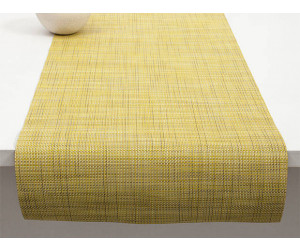 Chilewich Tischläufer Mini Basketweave lemon -013 (36x183 cm)