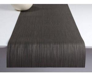 Chilewich Tischläufer Mini Basketweave light grey -015 (36x183 cm)