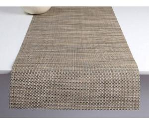 Chilewich Tischläufer Mini Basketweave linen -014 (36x183 cm)