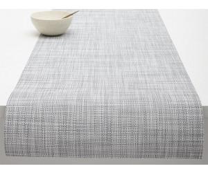 Chilewich Tischläufer Mini Basketweave hellgrau -034 (36x183 cm)
