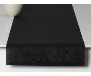 Chilewich Tischläufer Mini Basketweave schwarz -002 (36x183 cm)
