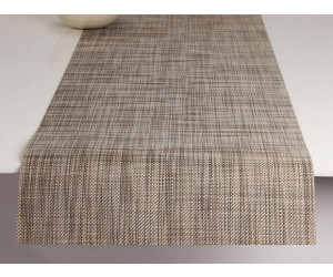 Chilewich Tischläufer Mini Basketweave soapstone -017 (36x183 cm)