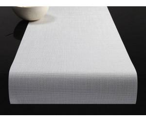 Chilewich Tischläufer Mini Basketweave weiß -020 (36x183 cm)