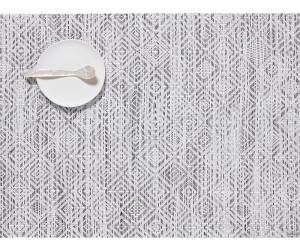 Chilewich Tischset Mosaic rechteckig white black