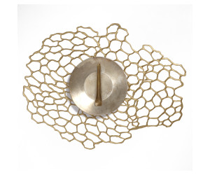 Chilewich Tischset Sea Lace oval brass