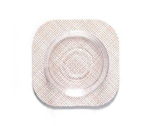 Chilewich 4er Set  viereckige Untersetzter Mini Basketweave rosa -033 (10,8x10,8cm)